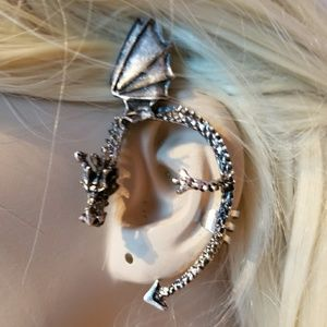 Flying Dragon Ear Cuff